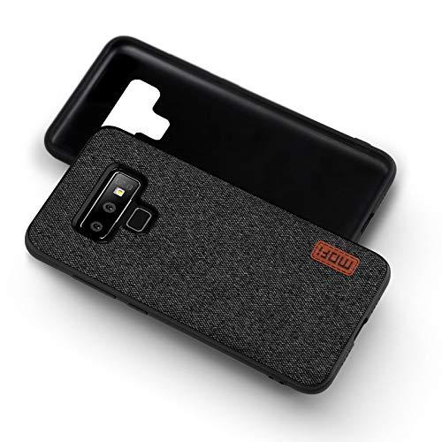 Mofi iKIJCOVER Custodia Originale Pelli per Samsung Galaxy Note 9 Cover Ultra Slim Armor Bumper Hybrid Cover Slim Smart Case in Pelli