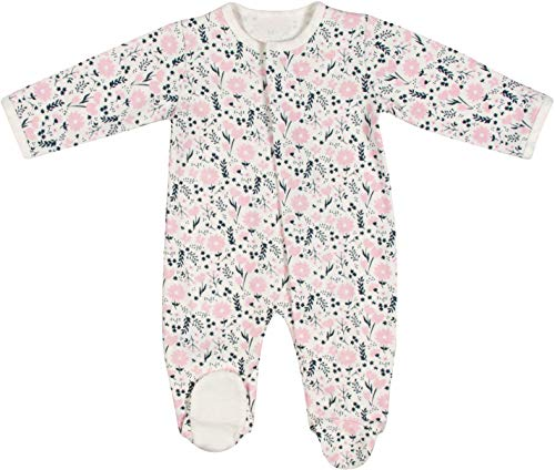 Magnetic Me Footie Pajamas 100% Organic Cotton Baby Sleepwear Quick Magnetic Fastener Sleeper Fall Garden 6-9 Months