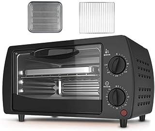 Mini horno doméstico horno multifuncional para hornear pasteles de pizza con temporizador de 60 minutos tostadora de acero inoxidable 2 capas 9L 220V-A