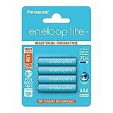 Panasonic Eneloop SY3052760 - Pack 4 Pilas Recargables, AAA