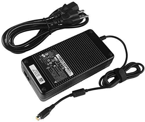 Oushuo Fit for 330W AC Charger Adapter Replacement Fit for MSI GT76 Titan 9SF Gaming 27 6QE Trident 3 Arctic 8th 9th Trident 3 9th Trident 3 9th 9SC Trident 3 8RC,LiteOn PA-1331-90