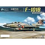 キティホークモデル 1/48 アメリカ空軍 F-101B/RF-101B ヴードゥー プラモデル KITKH80114