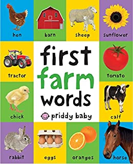First 100 Padded: First Farm Words by [Roger Priddy]
