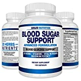Best Blood Sugar Supports - Blood Sugar Support Supplement - 20 Herbs Review