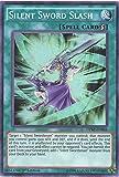 YU-GI-OH! - Silent Sword Slash (DPRP-EN004) - Duelist Pack: Rivals of The Pharaoh - 1st Edition - Super Rare