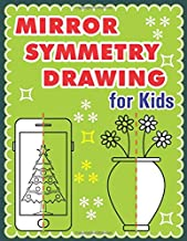 Mirror Symmetry Drawing: Collection Of Mirror Drawing For Kids 8.5 x 11 inches