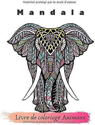 Coloriage A Imprimer Mandala Animaux.Amazon Fr Mandala Animaux Livres Pour Enfants Livres