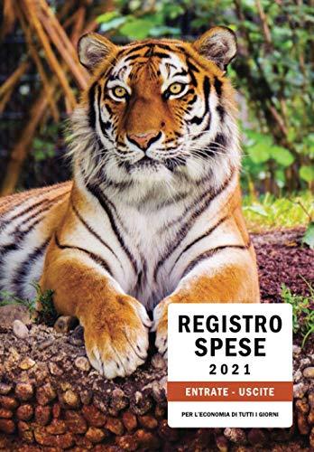 REGISTRO SPESE 2021: Libro dei conti di Casa / Diario delle spese / Registro ENTRATE - USCITE / Format COMPLETO ed INTUITIVO per l'economia di tutti i giorni!
