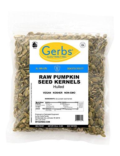 GERBS Raw Hulled Pumpkin Seed Kerne…