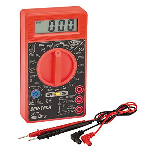 7 Function Digital Multimeter with Backlight -USATM