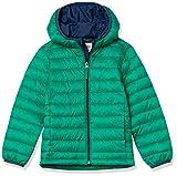 Amazon Essentials Leggero, Impermeabile e Ripiegabile, con Cappuccio, Giacche Outerwear-Jackets, Verde, US XL (EU 146-152 CM)