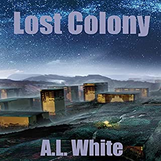 Lost Colony audiobook cover art