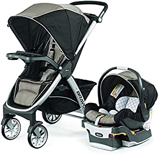 Chicco Bravo Travel System with Child Tray