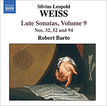 Weiss, S.L.: Lute Sonatas, Vol.  9  - Nos. 32, 52, 94