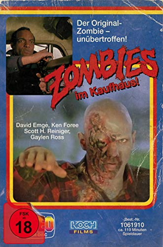 Zombie - Dawn of the Dead (Retro-VHS-Edition B, UHD + 3 Blu-rays) (exklusiv bei Amazon.de)