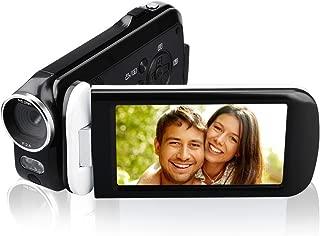 Video Camera Camcorder, CamKing 2.7K 18X HD Ultra-Thin Digital Video Camera with 3.0 Inch HD Touch Screen Digital Zoom Camera Recorder