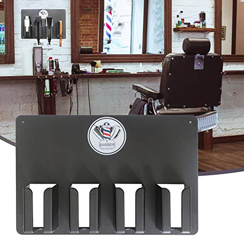 Depruies Universal Clipper Trimmer Tool Holder Clipper Holder Barber Salon Electric Hair Cutter Stand Holder, Salon Appliance Rack, Bathroom Comb Storage Storage Stand