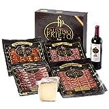Lote curiosidad: Degustación de loncheados ibéricos de bellota acompañado de queso y...