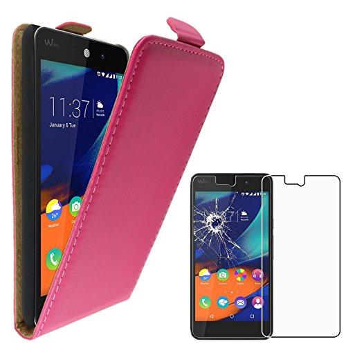 ebestStar - Funda Compatible con Wiko Rainbow Lite 4G Carcasa Abatible PU...