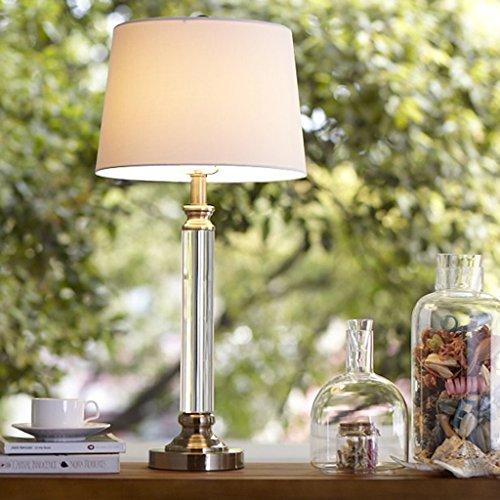Lampe de table F Lampe de Table en Cristal - Moderne Personnalité Lampe de Table en Cristal - Modèle Maison Art Salon Étude Chambre Décoration K9 Lampe de Table en Cristal