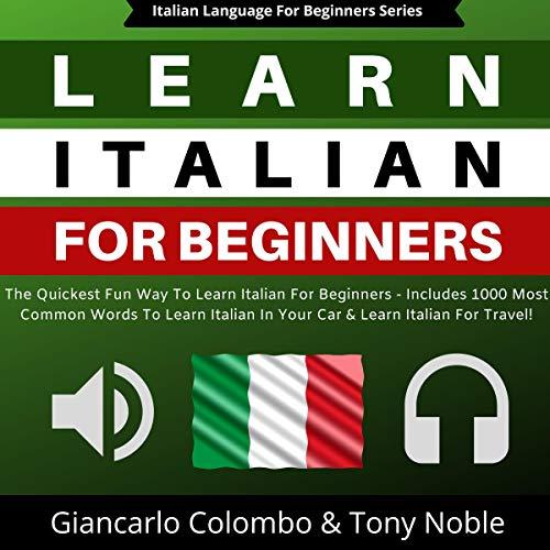 Page de couverture de Learn Italian for Beginners