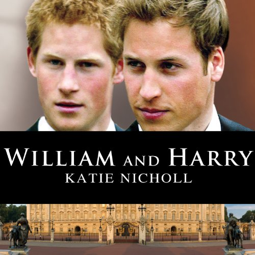 William and Harry audiobook cover art