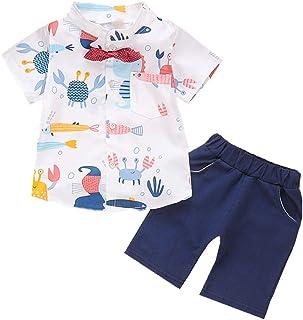 BabiCola Summer Kids Clothes Newborn Baby boy Clothing Fashion Sport Suit T-Shirt + Solid Short Sets