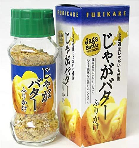 北海道限定 函館市限定 じゃがバターふりかけ 北海道産ポテトフレークとバター風味を 65g ふりかけ Jaga Butter FURIKAKE