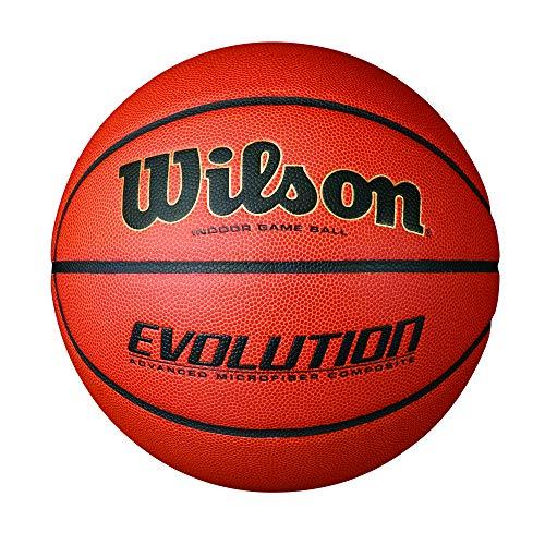 Wilson Evolution Indoor Game Basketball, Official (29.5