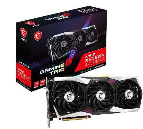 MSI RX 6900 XT Gaming X Trio 16G Tarjeta gráfica AMD Radeon RX 6900 XT 16 GB GDDR6