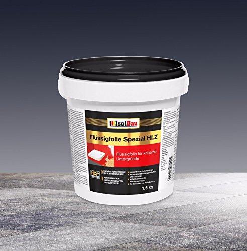 Flüssigfolie Spezial HLZ 1,5 kg Dichtfolie Abdichtung Balkon Bad Dusche Küche