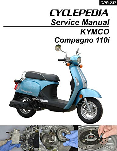 KYMCO Compagno 110i Scooter Online Service Manual (English Edition)