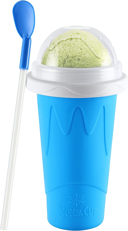 Slushie Maker Cup TIK TOK online shopping 2021 Quick Frozen Smoothies Coo Magic