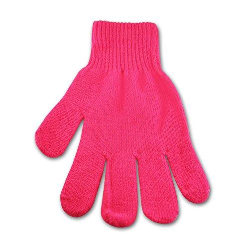 Underground Kulture Gants Hiver Lumineux Rose (Bright Winter Gloves Pink)