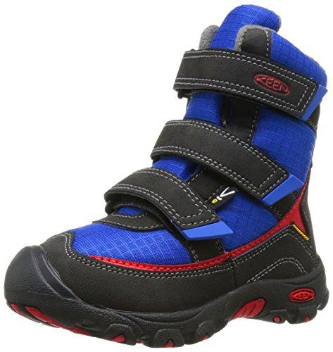 KEEN - Trezzo II Waterproof Chaussures d'hiver Enfants (Bleu foncé/Noir) - EU 36 - US 4