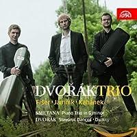 ドヴォルザーク : ピアノ三重奏曲 第4番 ホ短調 「ドゥムキー」 op.90 , スラブ舞曲 第1集 op.46より 他 (Dvorak : Slavonic Dances , Dumky | Smetana : Piano Trio in G Minor / Dvorak Trio) [輸入盤]