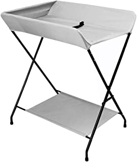 Family care/Foldable Baby Changing Station Diaper Table for Infant Changing Unit Changing Table for Small Spaces Newborn Toddler Care Dresser Nursery Organizer