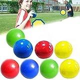 Bola de pared adhesiva fluorescente, juguete para apretar, 4 colores, bola adhesiva antiestrés, bolas antiestrés que se pueden pegar al techo, bola de pared para adultos y niños.
