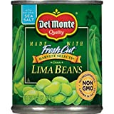 Del Monte Canned Fresh Cut Harvest Selects Green Lima Beans, 8.5 Ounce (Pack of 12)