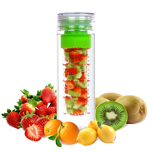 Fruit Infuser Water Bottle 24 oz