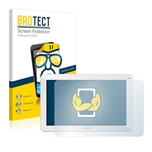 BROTECT Schutzfolie kompatibel mit Archos 101 Copper (2 Stück) klare Displayschutz-Folie