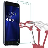 HQ-CLOUD® 1 Film Vitre Verre Trempé de Protection d'écran pour ASUS Zenfone 3 ZE520KL 5.2' (n'est...