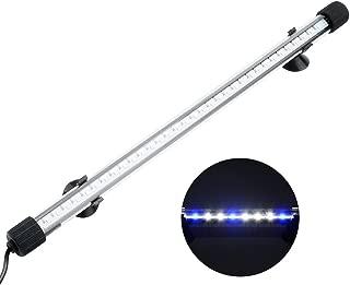 NICREW Submersible LED Aquarium Light, Hidden White with Blue LED Light Stick for Fish Tank