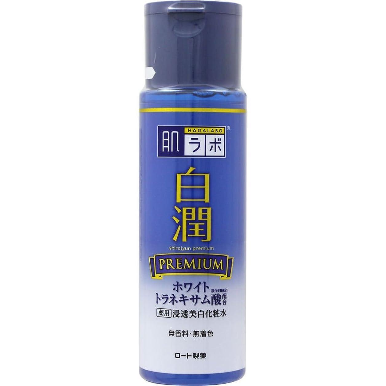 連続的フェンス疑わしい肌ラボ 白潤プレミアム 薬用浸透美白化粧水 170mL (医薬部外品)