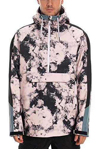 686 Men's Waterproof Anorak Insulated Jacket - Waterproof Ski/Snowboard Winter Coat, Dusty Pink...