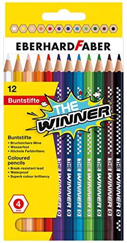 Faber-Castell Crayons de couleur The Winner 518212 VE12