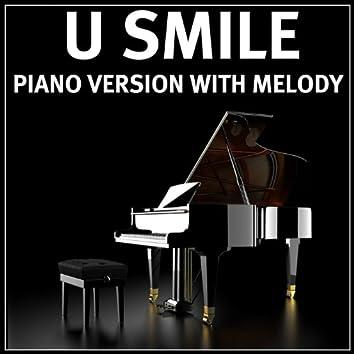 U Smile (Piano Version W Melody Style of Justin Bieber)