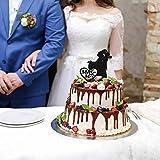 Zoom IMG-1 wedding mr mrs cake topper