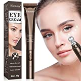 Eye Cream Anti Aging Bags & Dark Circle, Under Eye Cream for Dark Circles and Puffiness, Eye cream with Electric Massager, Eye Cream to Brighten and Depuff, Reduce Dark Circles and Wrinkle Care, Puffiness, Eye Bags, 20ml
