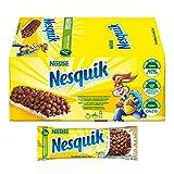 Nesquik Milk Choco Barretta di Cereali al Cioccolato e al Latte, 24 Pezzi...